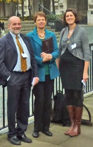 BCAW delegation at Westminster
