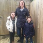 Ravenhill resident, Jessica Barreda, pictured with her children, Chloe (9) and Adam (6), has complained about late flights to no avail.